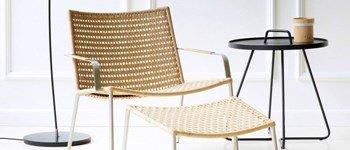 We love a mesa de exterior on-the-move da caneline