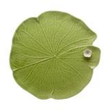 bordallo pinheiro prato folha nenúfar 32.5cm