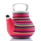 eva solo my big tea chaleira pink stripes