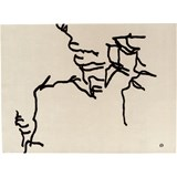 dibujo tinta 1957 tapete 178 x 240