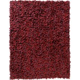 nanimarquina little fields of flowers tapete vermelho - 200 x 300