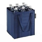 reisenthel bottlebag saco para garrafas azul escuro