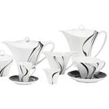 jazz serviço de chá de 15 peças
