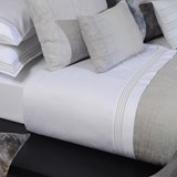 home concept grey bay lençol de cima 180x280