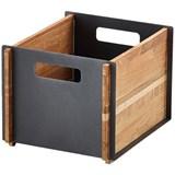 Caixa de arrumação box lava grey