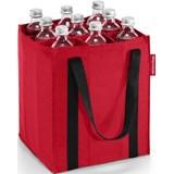 bottlebag saco para garrafas vermelho