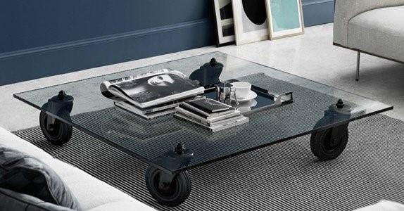 fontana arte tavolo ruote