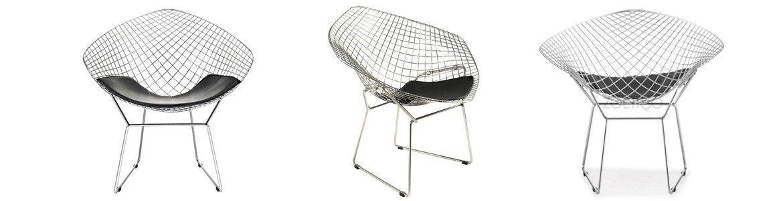prospettive harry bertoia diamond chair