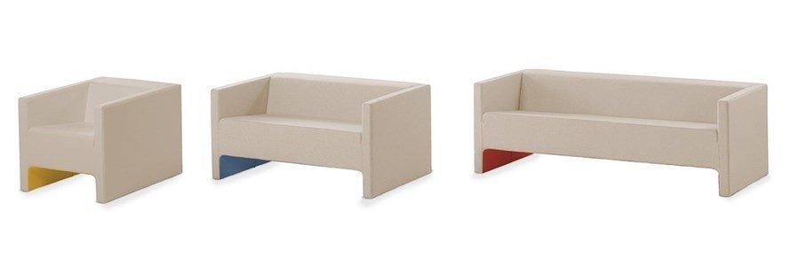 viccarbe davos cadeirao sofa