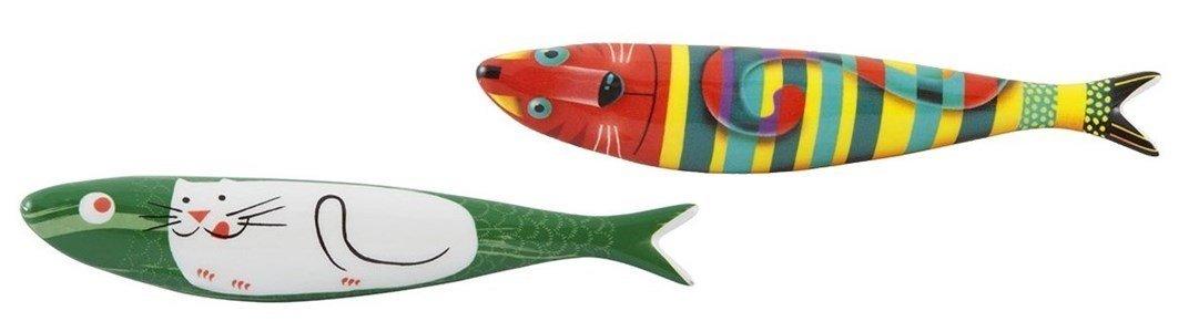 bordallo pinheiro pack sardinhas gatos