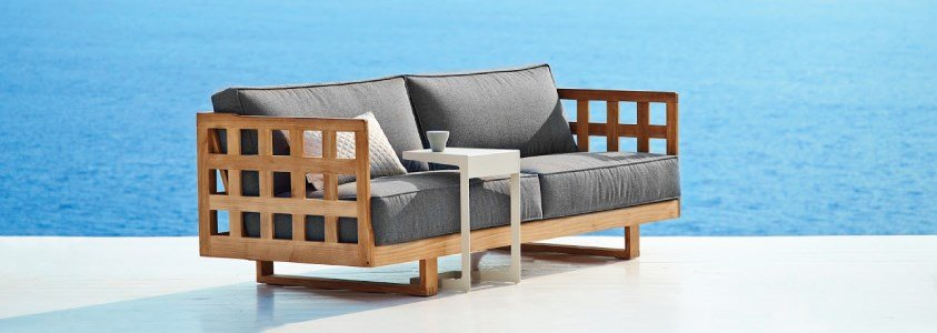 square sofa 3 lugares