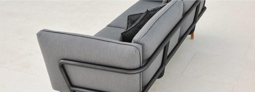 urban sofa 3 lugares cane line dois