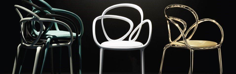 qeeboo front loop cadeira
