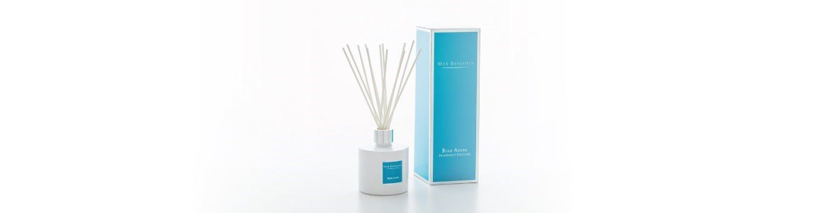 blue azure difusor fragrancia
