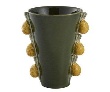 bordallo pinheiro jarra trilho caracois