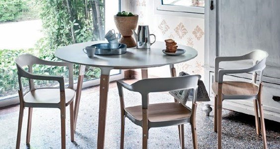 magis  steelwood cadeira