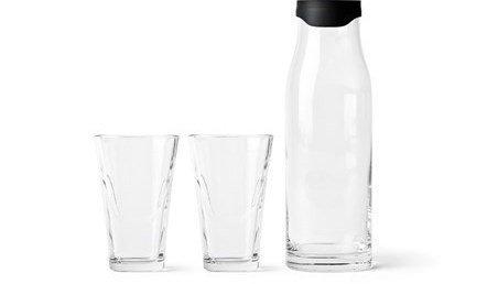 menu garrafas agua