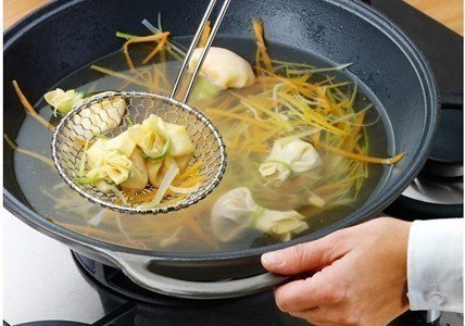 wmf profi plus escumadeira para wok