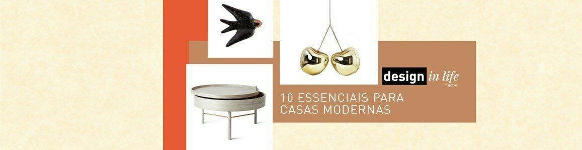 10 essenciais casas modernas