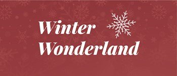 Winter wonderland - christmas holidays