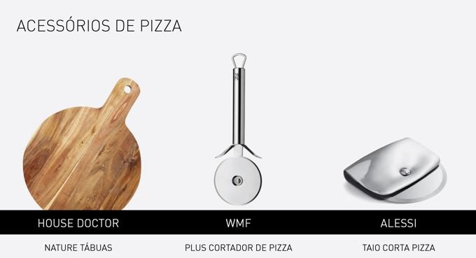 acessórios pizza