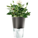 vaso  cinza escuro ø 13 cm