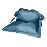 outdoor puff petrol blue