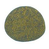 bichos y flores rug pistachio - 127x140