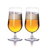 set of 2 beer glasses 50cl