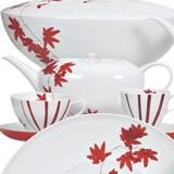 fall tea set of 15 pieces