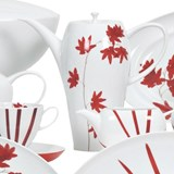 fall coffee set of 15 pieces