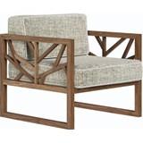 tree lounge chair in walnut