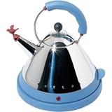 blue electric kettle