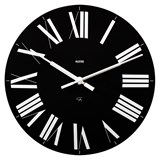 firenze black wall clock