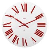 relógio de parede firenze vermelho
