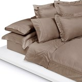 Home Concept Fitted sheet brown 90x200