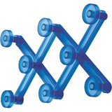 brigde wall coat hanger blue