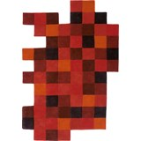 do lo rez tapete 1 vermelho - 184 x 276