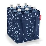 bottlebag saco para garrafas spots navy