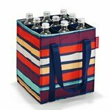 Reisenthel Bottlebag saco para garrafas artist stripes