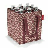Reisenthel Bottlebag saco para garrafas diamonds rouge