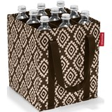 Reisenthel Bottlebag saco para garrafas diamonds mocha