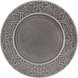 rua nova set of 4 dinner plates anthracite