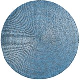 Makaua set of 6 placemats light blue
