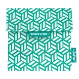 snack'n'go snack bag tiles green