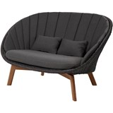 peacock 2 seat lounge sofa