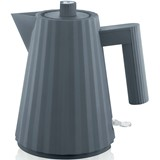 Alessi Plissé electric kettle grey