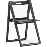 enjoy set of 2 folding black chairs