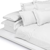 Home Concept Fitted sheet white 200x200