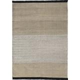 tres outdoor stripes rug negro- 170x240